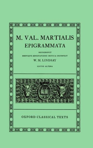 Epigrammata (Oxford Classical Texts)