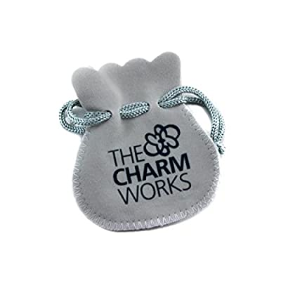TheCharmWorks Sterling-Silber Rollschuh Charmanhänger | Sterling Silver Roller Skate Charm