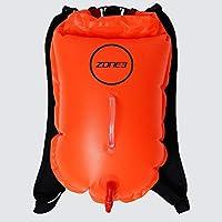 ZONE3 Swim Run - Mochila para Correr (boya Seca, 28 L), Color Naranja