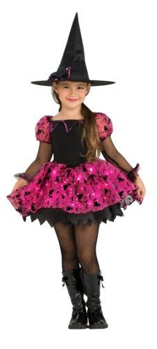 Moonlight Zauberhafte Hexe - Halloween - Kinder-Kostüm - -