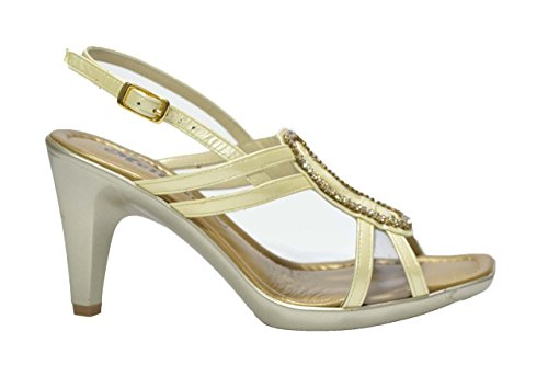 Melluso Sandali scarpe donna sabbia eleganti R5710 37