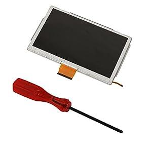 eJiasu Touch Screen Digitizer Glass Replacement Repair Part for Wii U Gamepad+1pc Tri-wing Screwdriver