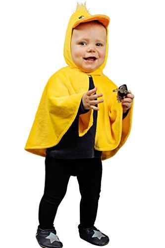 (Karneval Klamotten Kostüm Küken Cape Karneval Entencape Entenkostüm Babykostüm Einheitsgröße)