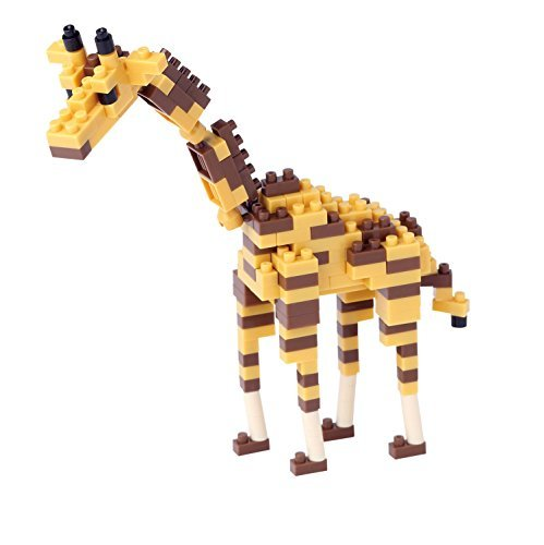kawada-micro-sized-building-block-nanoblock-giraffe-nbc-158-150-pieces-level-of-difficulties-easy-2-