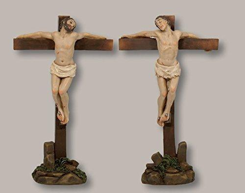 Figuras de la pasión: 2 schächer para aprox. 5cm figuras