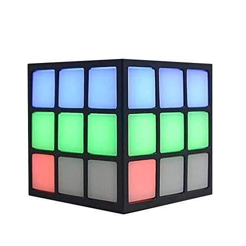 Ksruee Forma Cubo Rubik Altavoz Bluetooth inalámbrico