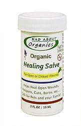 Mad About Organics All Natural Dog Cat Horse Pet Herbal Healing Salve 2oz
