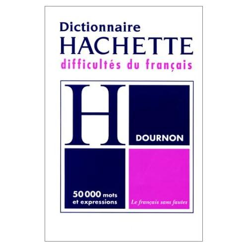 LE DICTIONNAIRE DES DIFFICULTES DU FRANCAIS. Edition revue et corrigée 1996
