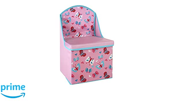 Blue Premier Housewares Children/'s Storage Box//seat Pirate Design Wood