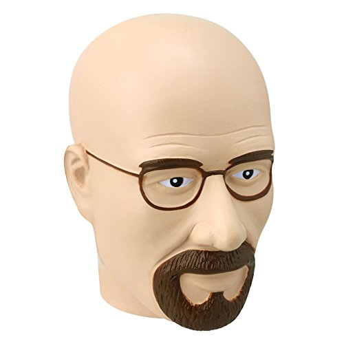Breaking Bad Walter Head Stress Ball (weiß) (Tv-serie Smash Dvd)
