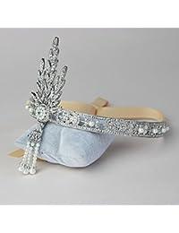 Corona para el pelo artesanal con piedras - The Great Gatsby