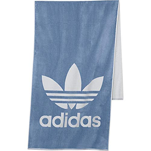 adidas Adicolor Handtuch, Ash Blue/White, One Size -