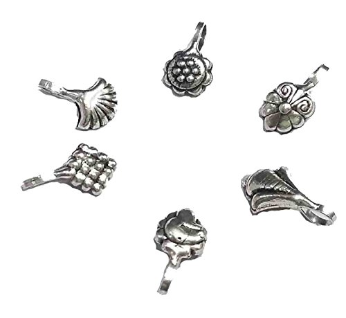 Oxidized nose pin (PACK of 6 pis) ==NP9