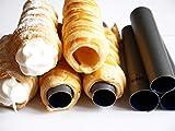 Eco Haus Living Canolli Tube Set - Set da 4 Stampi per Cannoli 11 cm - forma cilindrica, – acciaio...