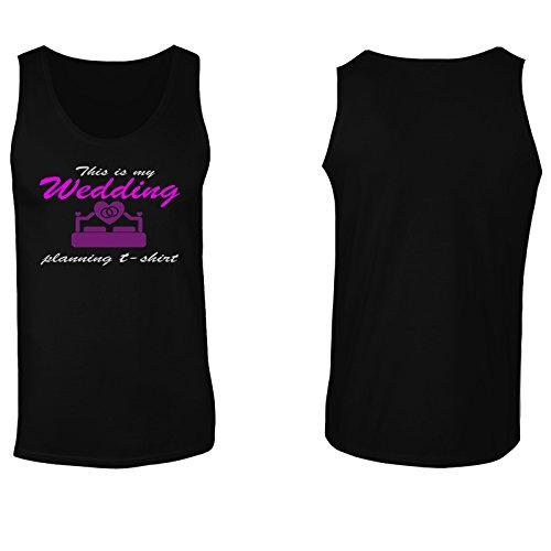 Questo è il mio matrimonio T-shirt novità divertente canotta da uomo e17mt Black
