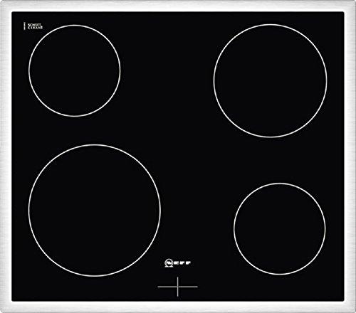 Neff MR 1340 N Kochfeld Elektro / Ceran/Glaskeramik / 58.3 cm / Gesamtanschlußwert 6600 W / schwarz