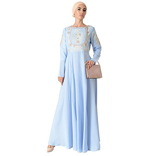 Top Embroidered Eid Abaya Dress + Hijab