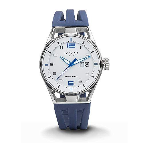 Locman Montecristo Casual Men's Timepiece cod. 0546A08S-00WHBLSB