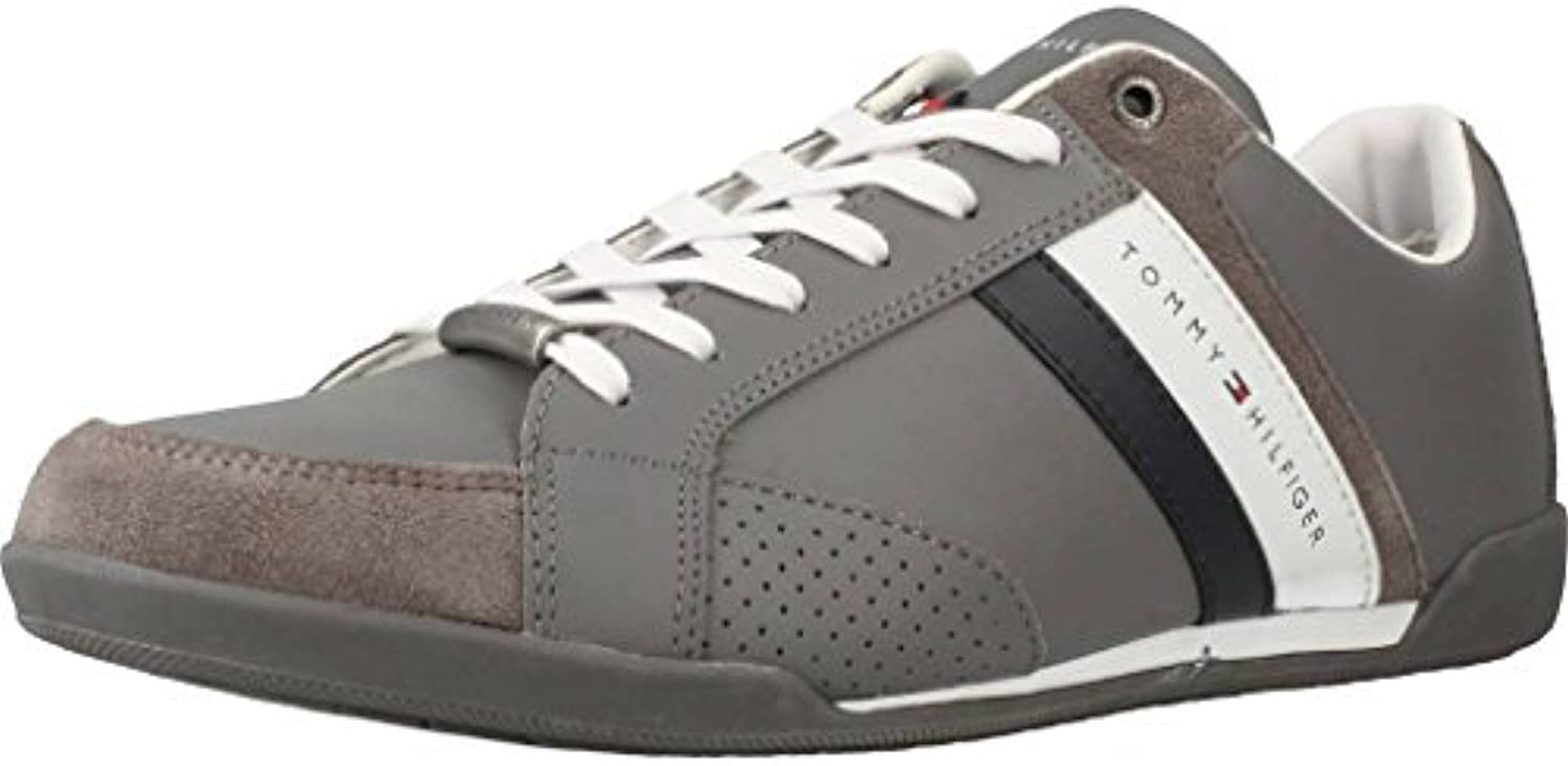 Tommy Hilfiger Corporate Material Mix Cupsole, Zapatillas para Hombre  -