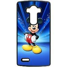 Mickey Mouse k7bi8p lg caso g4 funda de teléfono celular negro u12160 caso funda personalizada duro