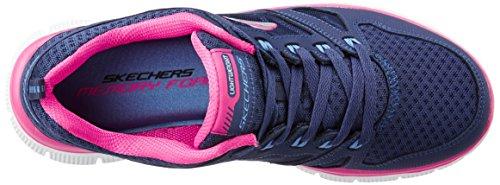 Skechers Donna Flex Appeal - Adaptable Scarpe Sportive Donna Blu (NVPK)