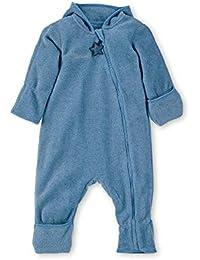 Sterntaler Baby-Jungen Overall Strampler, Blau