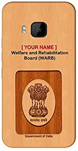 """Aakrti Mobile Back cover with your Dept: Welfare and Rehabilitation Board (WARB).Your ID with Govt. Logo With """" Your Name """" Printed on your Smart Phone : LG G2 Mini"""