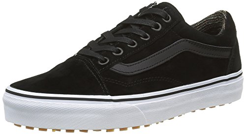 Vans Old Skool, Sneakers Basses Mixte Adulte, Noir (Mte Black/Tweed), 37 EU