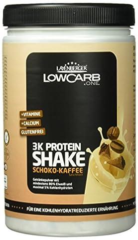 Layenberger LowCarb.one 3K Protein-Shake Schoko-Kaffee, 1er Pack (1 x 360 g)