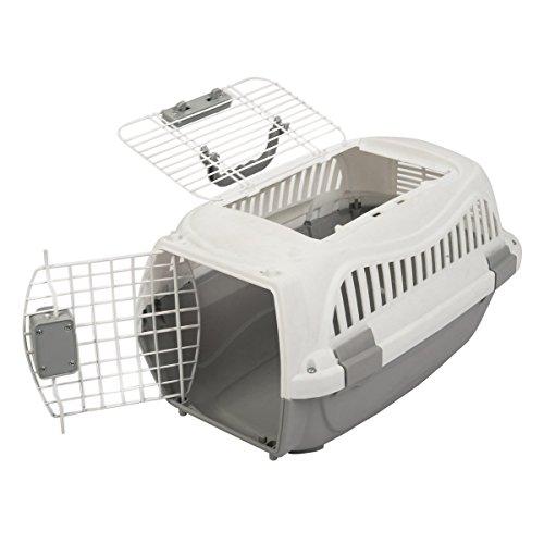 Favorite Haustier Träger Transportbox Geeignet für Klein Mittel Hund Katze Tierarztbesuche und Reisen, Portable mit Zwei Eingängen