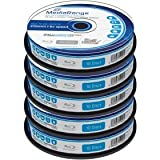 Blu-ray Disc Mediarange BD-R DL 50 GB, 6x Speed fullprintable in Cakebox 50 Stück