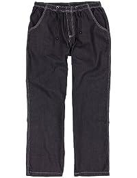 Jeans de jogging noir d'Abraxas grandes tailles jusqu'à 12 XL
