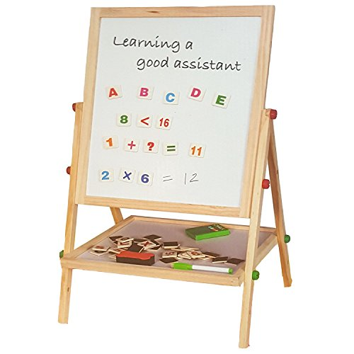Creative Foldable Children Black// White Double Sided Drawing Board With Magnetic