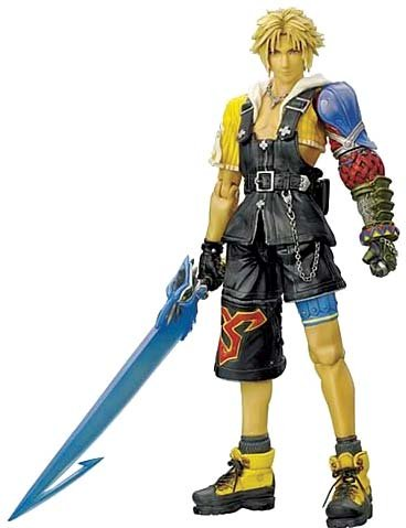 Figurine Play Arts - Final Fantasy X - Tidus