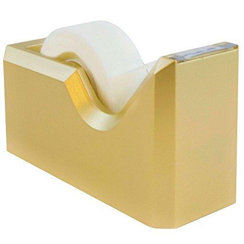 Jam Papier® Colorful Klebeband Spender-41/5,1cm X 21/5,1cm X 13/10,2cm-Tape Spender-Verkauft Einzeln gold