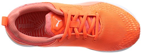 Puma Pulse Xt V2 3-d New Wns Damen Hallenschuhe Orange (fluo peach-white 01)