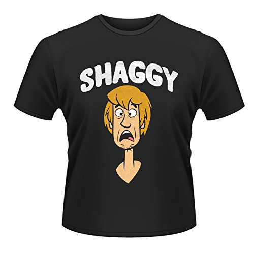 Men's Shaggy Scooby Doo T-shirt, black