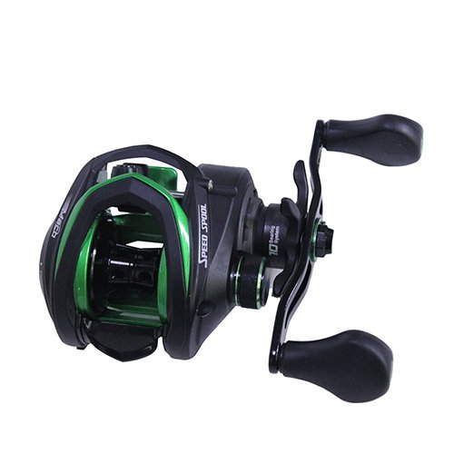 Lew's Fishing Mach Speed Spool MCS Casting Reel with 6.8:1 Gear Ratio & 11 Bearings, 10 lb, Right Hand by Lew's Fishing (10 Lb Spool)