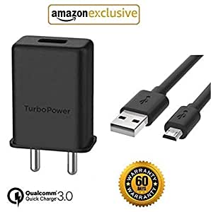 Vodzy Presents Micro USB Turbo Power 3.0 Amp 25 W Mobile Charger Compatible for All Motorola and All Android Phones (Charger)