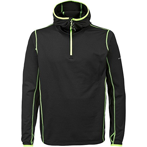 Trespass Herren Oxy Sport Top Schwarz