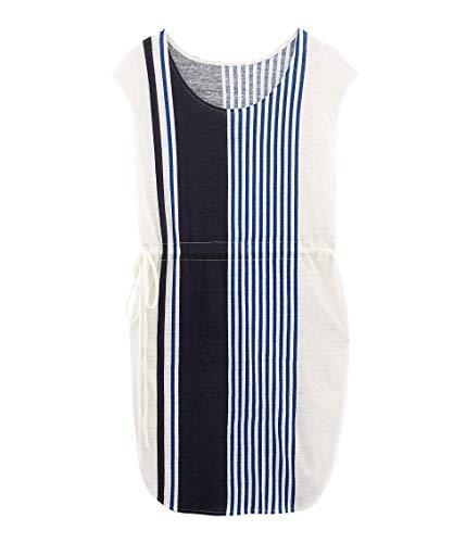 Petit Bateau Damen BERLINGO Kleid, Mehrfarbig (Marshmallow/Multico 01), Medium