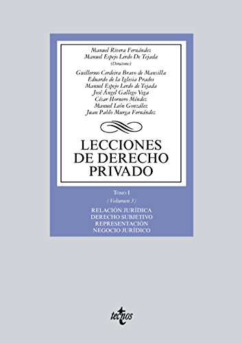 Lecciones de Derecho privado (Derecho - Biblioteca Universitaria De Editorial Tecnos)