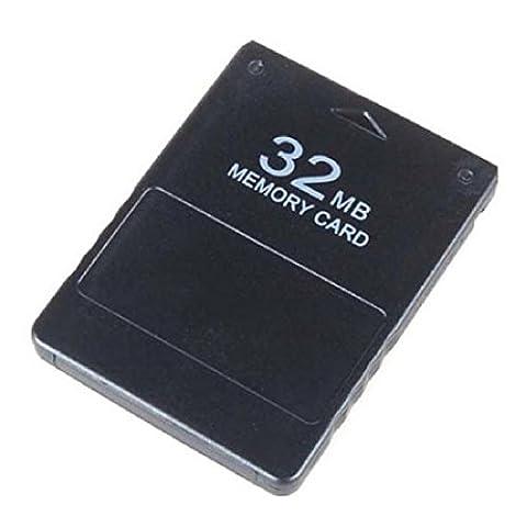 32Mb Flash Speicherkarte für Sony PS2 Playstation 2 Micro Hart