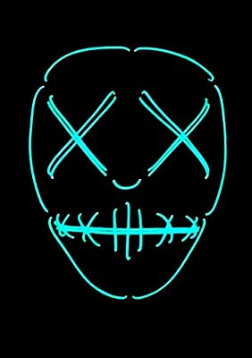 Original Cup Masque LED La Purge American Nightmare Neon Halloween