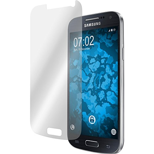 PhoneNatic 2er-Pack Displayschutzfolien klar kompatibel mit Samsung Galaxy S4 Mini Plus I9195