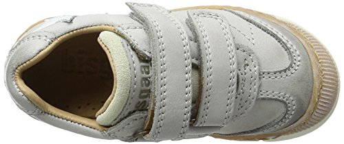 Bisgaard Klettschuhe, Sneakers basses mixte enfant Grau (400-1 Light grey)