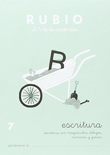Cuadernos Rubio: Escritura 7 por Ramón Rubio Silvestre