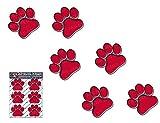 ROT PAW DRUCKE kleine Tier Pet Pack Auto Aufkleber Decals - ST00002RD_SML - JAS Aufkleber