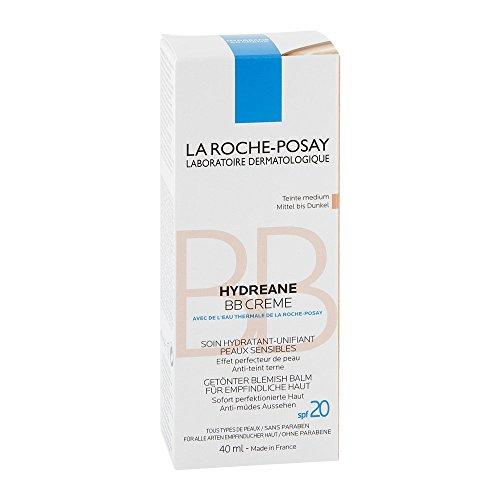 La Roche-Posay Hydreane BB mittel bis dunkel Creme, 40 ml