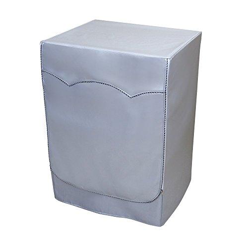 Mr.You Cubierta de la lavadora Cubierta a prueba de polvo para lavadora y secadora delantera 3 año de garantía limitada(Profundidad de 58~65cm, 3 años de vida de servicio)